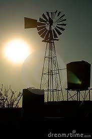 windpomp Wind Turbine, Black And White, Black White, Blanco Y Negro, Black N White