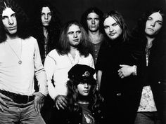 Lynyrd Skynyrd Guitarist   Robert Burns Jr., left, was the drummer for Lynyrd Skynyrd until 1974~