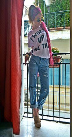 My Statement Tee I Am Statements, Statement Tees, Finger, Denim, T Shirt, Jackets, Fashion Trends, Style, Supreme T Shirt
