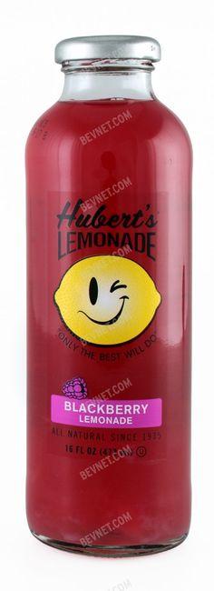 Blackberry Hubert's Lemonade....my new favorite mixer for my grey goose! The original lemon aide is yummy too!