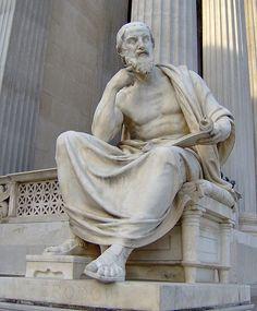 Herodotus. Austria, Vienna, Austrian Parliament Building