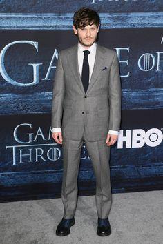 Iwan Rheon à l'avant-première de la saison 6 de Game of Thrones