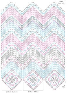 Soft Rope Tote Bag pattern by Andrea Marton Zig Zag Crochet, Crochet Pillow Pattern, Crochet Ripple, Crochet Bedspread, Crochet Motifs, Crochet Diagram, Crochet Stitches Patterns, Crochet Chart, Crochet Squares