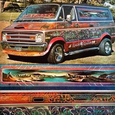 Van Customization by Kolor Me Kustoms.