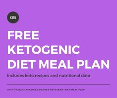 Get this free ketogenic diet meal plan here. It's filled with delicious ketogenic recipes covering breakfast, lunch, and dinner.