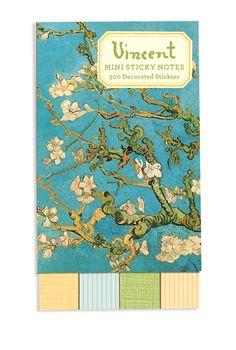Van Gogh Sticky Notes from Galison. #Art #VanGogh #Galison #EvansAndHall