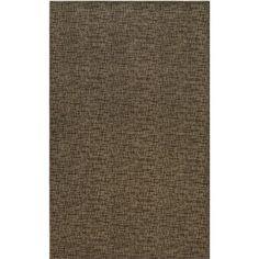 Mercury Row Attalus Brown Indoor/Outdoor Area Rug Rug Size: 8' x 11'