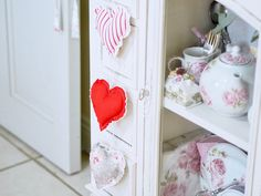 How to sew a fabric heart, valentines DIY
