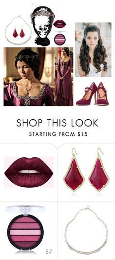 """""""Elven Fuschia"""" by charlie-aw-easter on Polyvore featuring Kendra Scott, Louise et Cie and Halston Heritage"""
