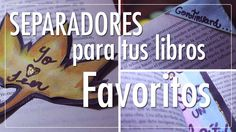 #CatCort #Youtube #Separadores para tus #libros #favoritos #Bookmarkers
