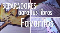 #CatCort #Youtube #Separadores para tus #libros #favoritos #Bookmarkers