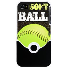 Fastpitch Softball phone case for the iphone 4 and 4s