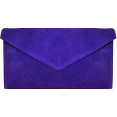 Colbalt Blue Envelope Clutch