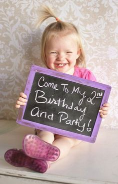 Great invitation idea for the children& birthday party. There are even more ideas on www . - Great invitation idea for the children& birthday party. There are even more ideas www. 2nd Birthday Parties, Birthday Fun, Birthday Ideas, 2nd Birthday Photos, Homemade Birthday, Birthday Banners, Frozen Birthday, Birthday Gifts, Kids Photo Props