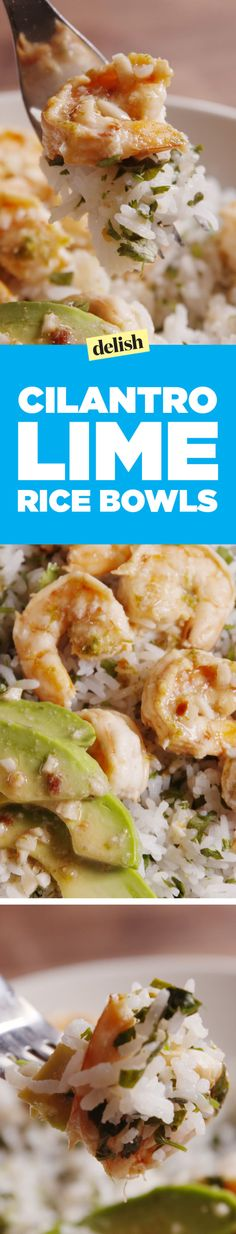 Cilantro-Lime Rice Bowls Is a Healthy Meal You'll Actually Crave