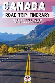 Planning the ultimate Canada road trip? Here's our itinerary for a road . - Planning the ultimate Canada road trip? Here's our itinerary for a road trip across Canad - Road Trip Map, Road Trip Destinations, Road Trip Hacks, Road Trips, Ways To Travel, Travel Tips, Travel Ideas, Canadian Travel, Canadian Rockies