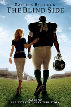 The Blind Side is my favourite movie. I think it represents myself because sandra bullock takes someone in and helps them when they have nothing and when I get older i want to be a type of person like that.