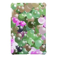 Pink and Green Balls iPad Mini Cover