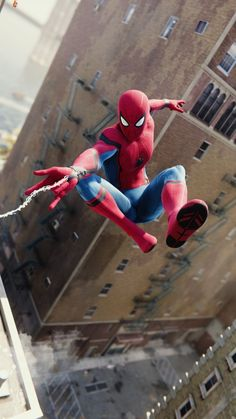 Photo from :SuperHeroes Fandom Spider Man Spider-man: Homecoming Avengers: Infinity war Avengers: Endgame Amazing Spiderman, Image Spiderman, All Spiderman, Spiderman Pictures, Marvel Comics, Films Marvel, Marvel Art, Marvel Heroes, Marvel Characters