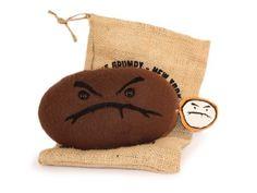 Plush Grumpy Bean (Roasted) - Café Grumpy