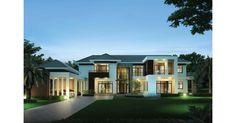 """ออกแบบบ้านหน้ากว้างขนาด 27.50 เมตร ให้ดูโล่ง โปร่ง มีมิติ ในแบบ Modern Style จาก """"มีนบุรีรับสร้างบ้าน"""""""