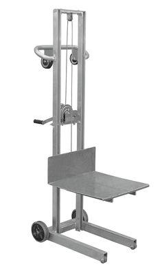 Hand Trucks R Us - Vestil Aluminum Lite Load Lift with Winch