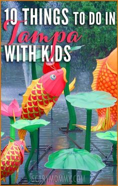 Planning a trip to Tampa, Florida? Get great tips and ideas for fun things to do with the kids (from a real mom who KNOWS) in Scary Mommy's travel guide!  summer | spring break | family vacation | beach | parenting advice