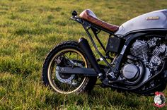 Honda Transalp 600 Special Scrambler By Rice Eaters Garage