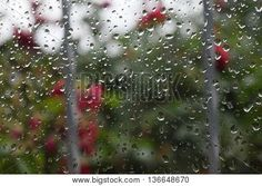 Water drops on glass summer rain clouds Rain Clouds, Summer Rain, Water Drops, Stock Photos, Glass, Image, Drinkware, Corning Glass, Water Droplets