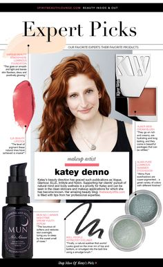 The lovely and talented Katey Denno chose our Luminous Shimmer Eyeshadow as one of her Expert Picks over at Spirit Beauty Lounge. We adore all of her pick! #greenbeauty   #alimapure