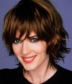 hair styles with short bangs 52 best hair images hair looks hairstyle ideas hair 3372 | efc537823cfd05b3372d7bb1903d08e0 short hairstyles with bangs hairstyles for curly hair
