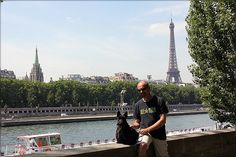 Me and Glen in Paris