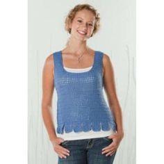 Deborah Norville Flippy Top Crochet Pattern Free Download