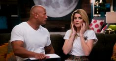 Grace Helbig Gets To Know 'The Rock'