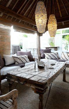 Bali meets India house in Bangalow, Byron Bay NSW Australia Bali House, India House, Outdoor Rooms, Outdoor Living, Outdoor Decor, Outdoor Fun, Indonesian Decor, Byron Bay, Interior And Exterior