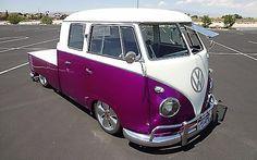 Rare 1961 VW Crew Cab