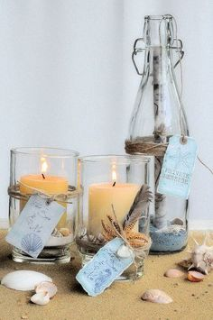 Nautical Candles.