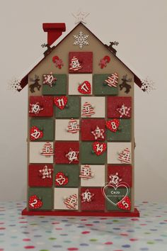 house advent calendar hobbycraft - Google Search                                                                                                                                                                                 More