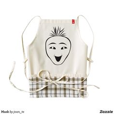 Mask Zazzle HEART Apron