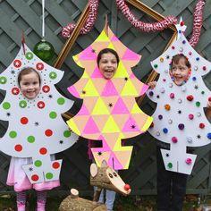 photo booth family christmas tree