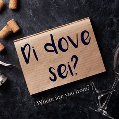 Frase della settimana / Phrase of the week: Di dove sei? (Where are you from?) Learn more about this phrase by visiting our website! #italian #italiano #italianlanguage #italianlessons Italian Phrases, Italian Words, Italian Quotes, Italian Language School, Basic Italian, Italian Vocabulary, Italian Lessons, Rare Words, Learning Italian