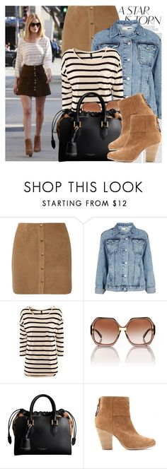 """""""864. Celebrity Style: Rosie Huntington-Whiteley"""" by chocolatepumma ❤ liked on Polyvore featuring Oris, Joie, Topshop, H&M, Tory Burch, Burberry and rag & bone"""