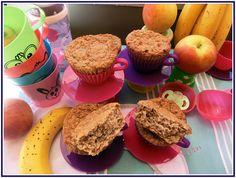 Lecker mit Geri: Apfel-Bananen-Muffins für Babys - Бебешки мъфини с ябълка и банан