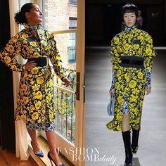 @traceeellisross headed to the @womenintheworld summit in a Fall 2017 printed look by @kenzo . Hot! Or Hmm...? #traceeellisross #kenzo #instafashion #style #instastyle #fashionbombdaily #celebritystyle #fashion #love #TagsForLikes #TagsForLikesApp #TFLers #tweegram #photooftheday #20likes #amazing #smile #follow4follow #like4like #look #instalike #igers #picoftheday #food #instadaily #instafollow #followme #girl #iphoneonly #instagood #bestoftheday #instacool #instago #all_shots #follow…