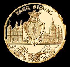"""2016 m. - """"Pacų Giminė"""" - devynioliktasis medalis iš kolekcijos """"Didingoji Lietuva""""."""