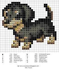 dog cross stitch patterns - Google Search