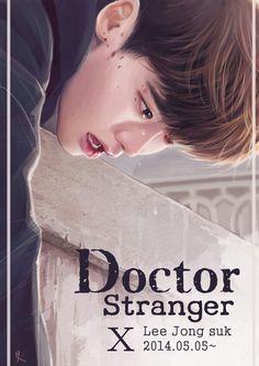 Lee Jong Suk fanart Dr. Stranger (not mine)
