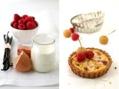 Pear and Raspberry Flan Tart :: Cannelle et VanilleCannelle et Vanille