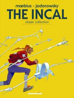 'The Incal' by Moebius & Jodorowsky - A comic you definitely should check out ;)
