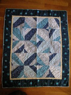 baby blue quilt - finished | Flickr - Photo Sharing!